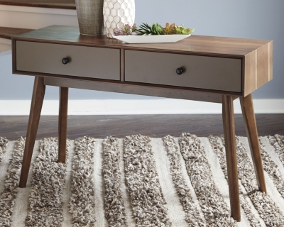 Image of Lynnifer Sofa/Console Table, Two-tone