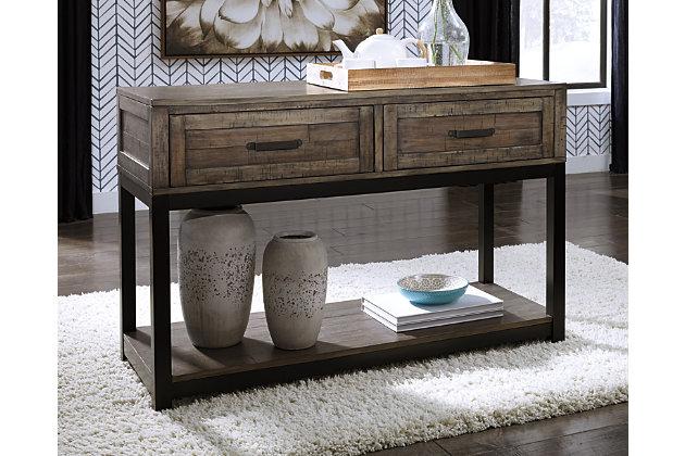 Johurst Sofa Console Table Ashley Furniture Homestore