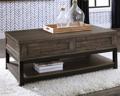 Johurst Coffee Table with Lift Top, , large