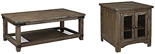 Danell Ridge Coffee Table with 1 End Table, , large