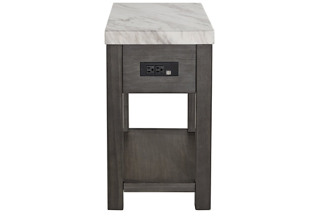 Vineburg Chairside End Table, , large