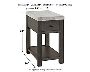 Vineburg Coffee Table with 1 End Table, , large