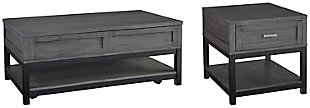 Caitbrook Coffee Table with 1 End Table, , large