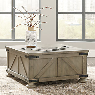 Aldwin Coffee Table with Lift Top Bundle