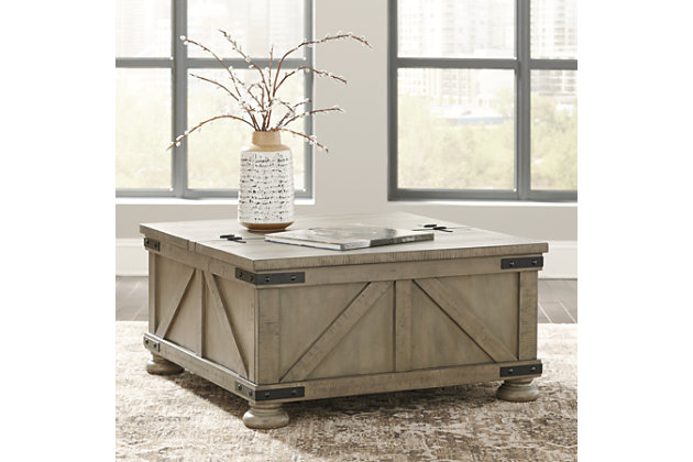 Aldwin Coffee Table with Lift Top, , large