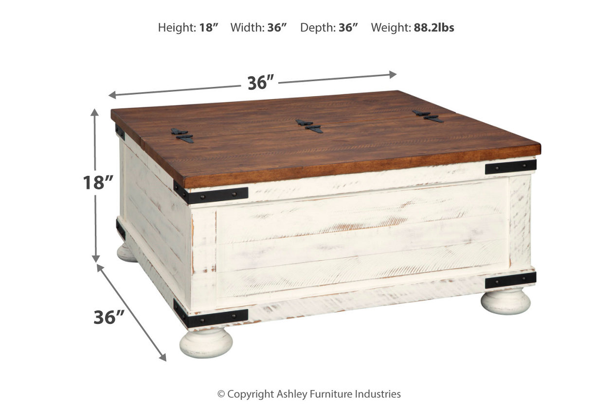 Super Wystfield Coffee Table Ashley Furniture Homestore Andrewgaddart Wooden Chair Designs For Living Room Andrewgaddartcom