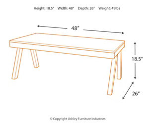 Raventown Coffee Table, , large