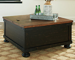 Valebeck Coffee Table with Lift Top, , rollover