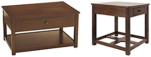 Marion Coffee Table with 1 End Table, , large