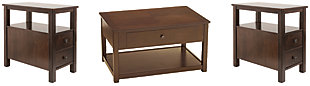 Marion Coffee Table with 2 End Tables, , large