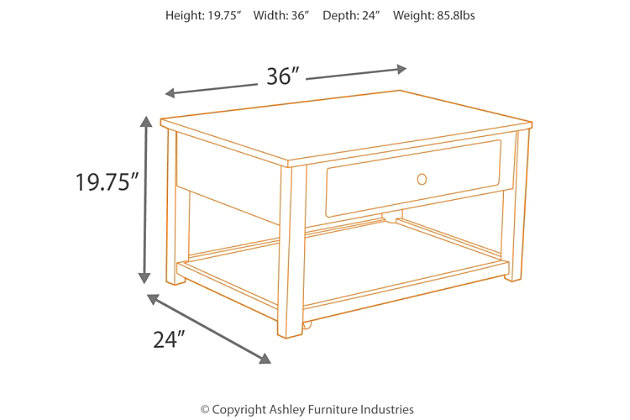 Marion Coffee Table, , large