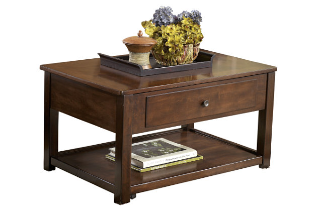 Marion Coffee Table by Ashley HomeStore, Brown