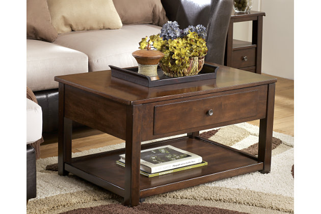 Decorating example using this table - Marion Coffee Table Ashley Furniture HomeStore