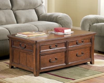 Woodboro Coffee Table with Lift Top by Ashley HomeStore, ...