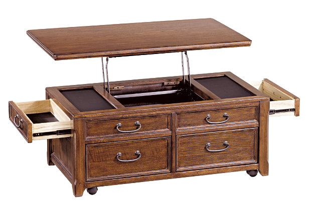 Woodboro Coffee Table With Lift Top Large