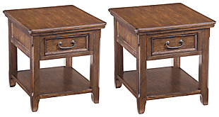 Woodboro 2 End Tables, , large