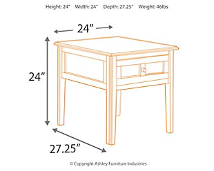 ... Henning End Table, , Large