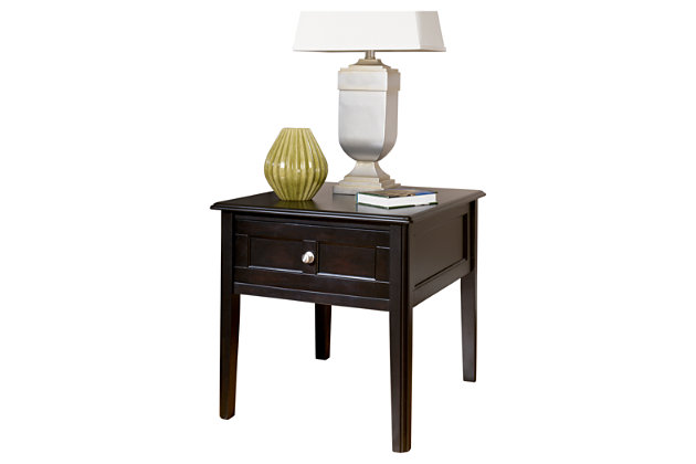 Henning End Table by Ashley HomeStore, Black