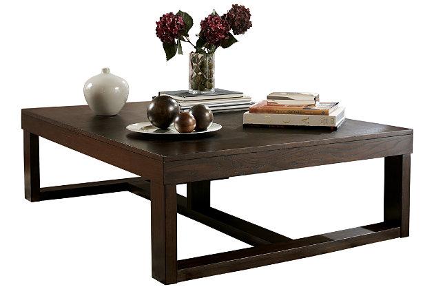 watson coffee table ashley furniture homestore With watson coffee table