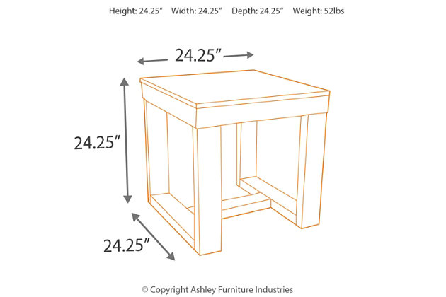 Watson End Table, , large