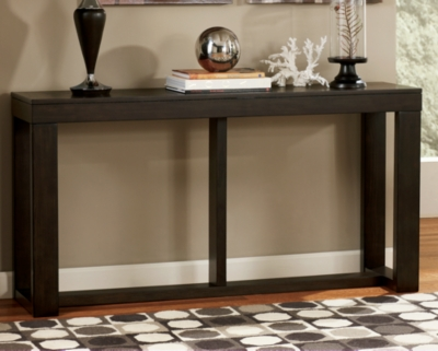 Ashley Watson Sofa/Console Table, Dark Brown