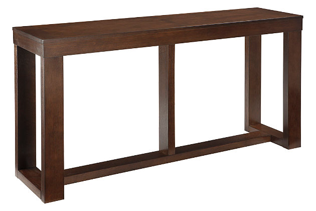 Watson Sofa/Console Table by Ashley HomeStore, Brown