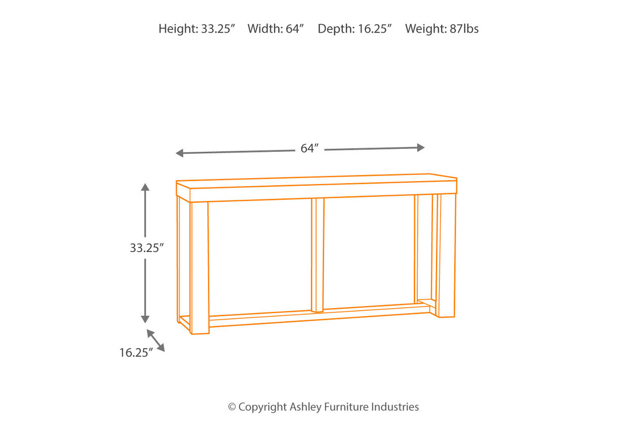 low priced 846c3 9995e Watson Sofa/Console Table | Ashley Furniture HomeStore