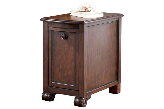 Brookfield Chairside End Table by Ashley HomeStore, Brown