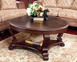 large Brookfield Coffee Table rollover Alymere with Lift Top Ashley Furniture HomeStore