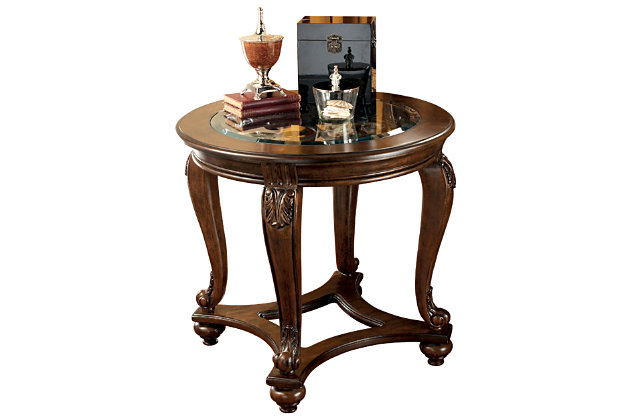 Norcastle End Table by Ashley HomeStore, Brown