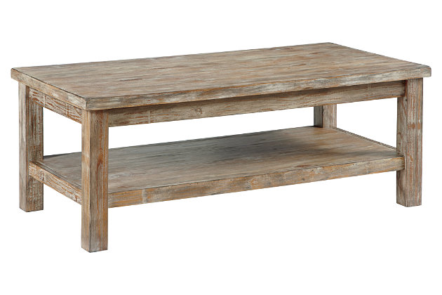 Vennilux Coffee Table by Ashley HomeStore, Tan