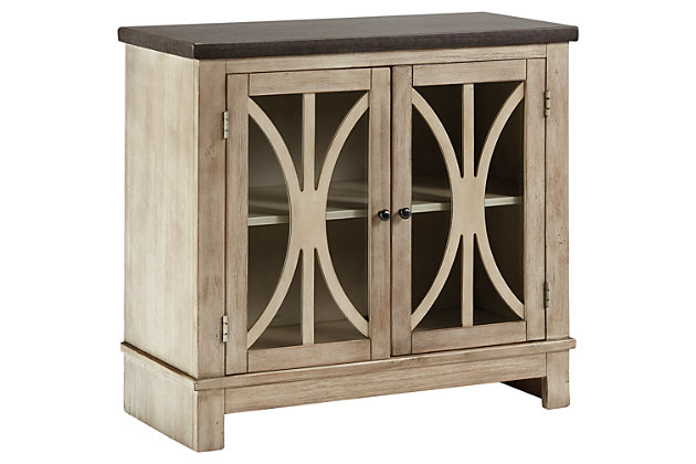 Vennilux Accent Cabinet by Ashley HomeStore, Tan