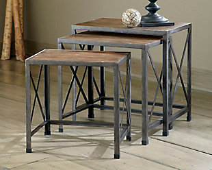 Vennilux End Table (Set of 3), , rollover