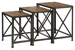 Vennilux End Table (Set of 3), , large