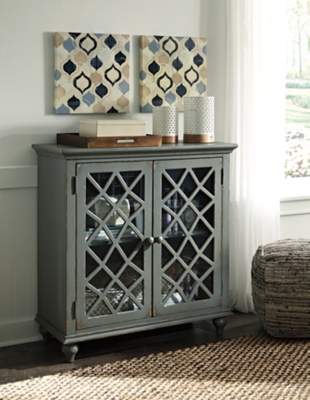 Ashley Mirimyn Accent Cabinet, Antique Gray