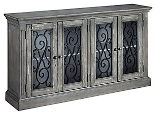 Mirimyn Door Accent Cabinet, , large