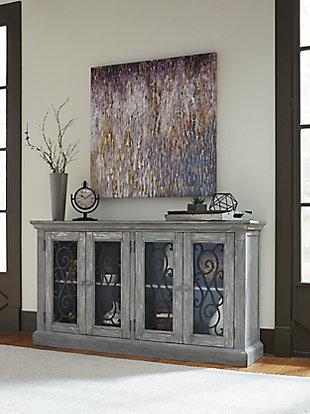 Mirimyn Door Accent Cabinet, , large