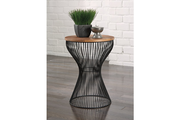 Black Marxim End Table by Ashley HomeStore