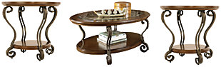 Nestor Coffee Table with 2 End Tables, , large