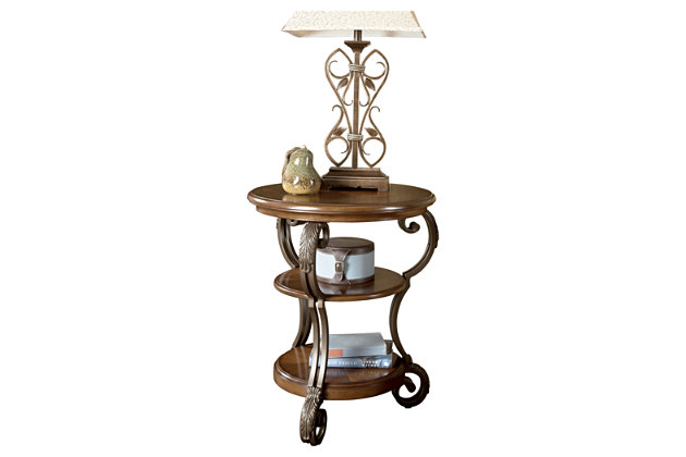 Nestor Chairside End Table by Ashley HomeStore, Brown