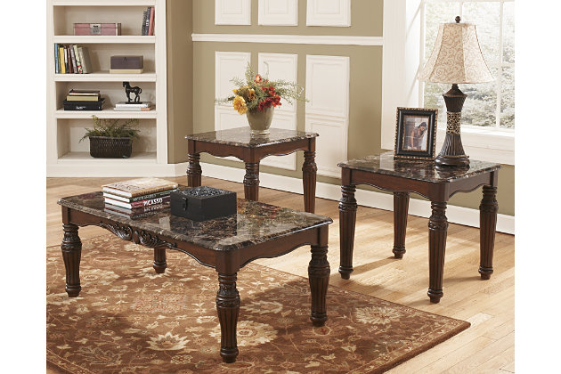 North shore table set of 3 ashley furniture homestore north shore table set of 3 large watchthetrailerfo