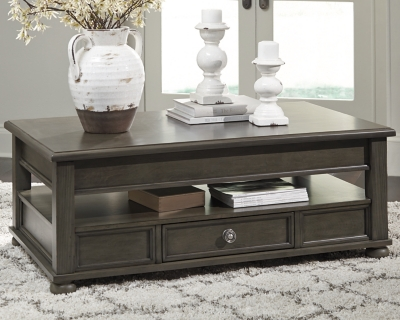 Devensted Coffee Table with Lift Top, , large