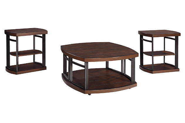 Challiman Table (Set of 3), , large