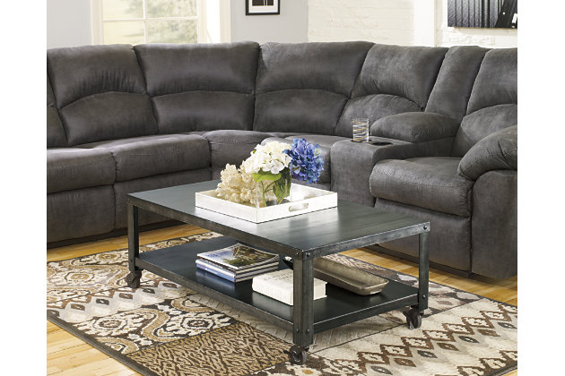 Hattney Coffee Table Ashley Furniture Homestore
