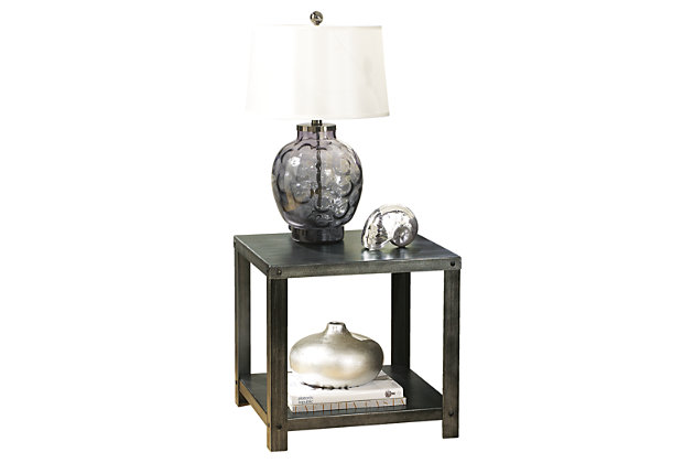 Hattney End Table by Ashley HomeStore, Gray
