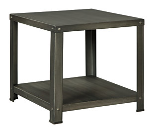 Hattney End Table, , large