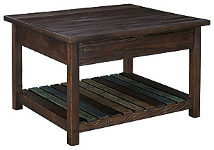 Mestler Coffee Table with Lift Top, , large