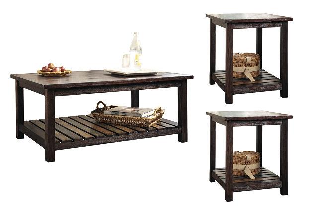 Mestler 3-Piece Table Set, , large