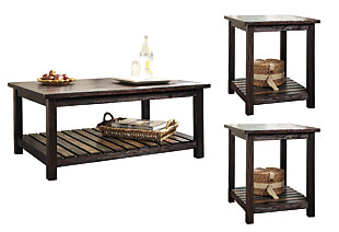 Mestler 3-Piece Table Set, , large
