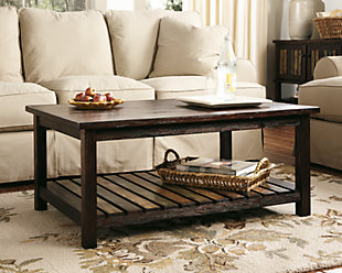 Coffee Tables Ashley Furniture HomeStore - Ashley furniture living room table set